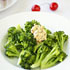 Steamed Broccoli with Sundried Tomato Butter