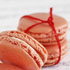 Cranberry and Orange Macarons