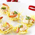 Potato Baskets with Salt and Pepper Prawns