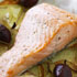Baked Salmon with Fennel, Potato and Olives