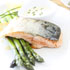 Crispy Skin Salmon with Lemon Chive Cream