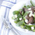 Lamb, Broad Bean and Rocket Salad with Mint and Feta