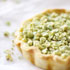 Wasabi Pea and Salmon Tartelette
