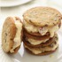 Strawberry Eggnog Ice Cream Sandwiches