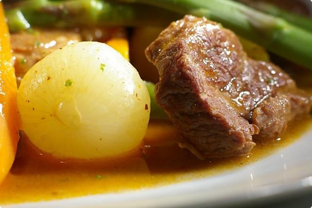Navarin A La Printanire Spring Lamb And Vegetable Casserole