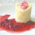 White Chocolate Mousse with Rose Water