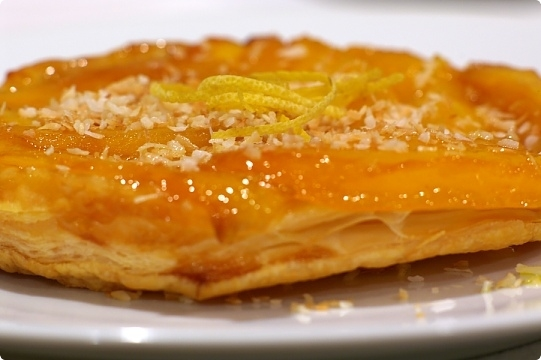 Mango Tatin Tartlets