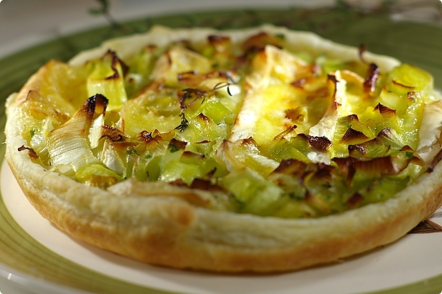 Leek and Brie Tartlets
