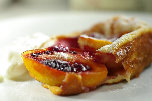 Tamarillo Clafoutis