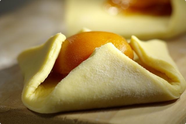 Preparing Apricot Danish