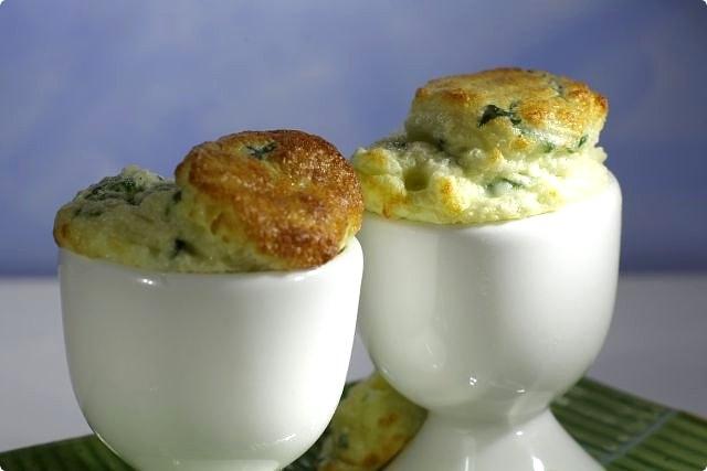 Baby Breakfast Egg Cup Soufflé