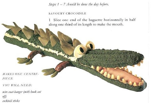 Enormous Crocodile from Roald Dahls Revolting Recipes