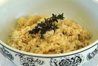 Barbara Wild Thyme Risotto