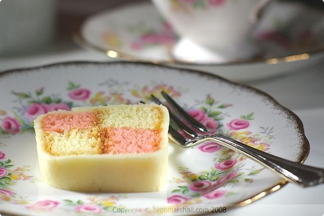 Battenberg Cake Slice