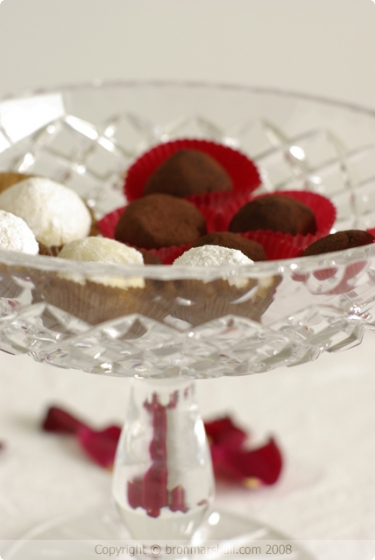 White Chocolate and Cointreau  Orange Piko Milk Chocolate Truffles
