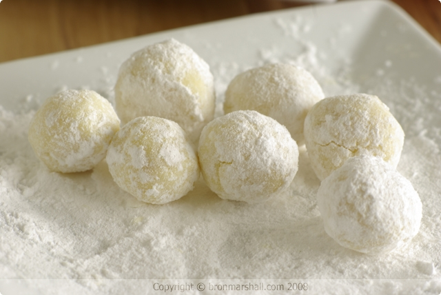 White Chocolate and Cointreau Truffles
