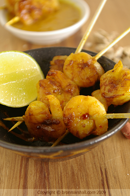 Prawn Peanut Satay