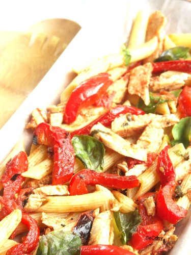 DH Chicken and Roasted Capsicum Pasta used with permission Copyright eCurry
