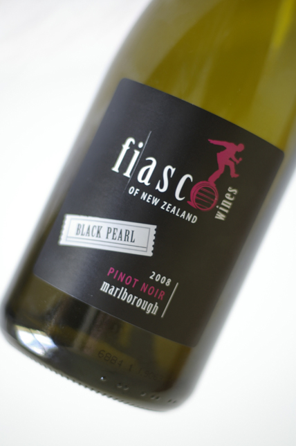 Fiasco Wines Black Pearl Pinot Noir
