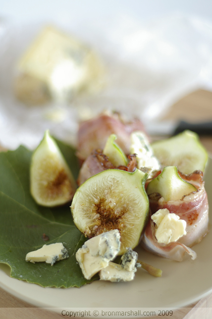 Figs Blue Cheese Pancetta Heaven